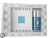 Azzaro Chrome EDT 100 ML + Deodorant stick 75 ML