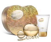 DKNY Golden Delicious EDP 50 ml + EDP 7 ml + shimmering Bodylotion + sleutelhanger