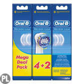 Oral-B Precision Clean 6 Borstels